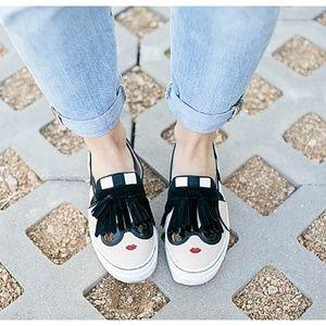 Alice + Olivia 'Stace Face' slip-on sneaker